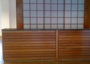 Shoji cupboard