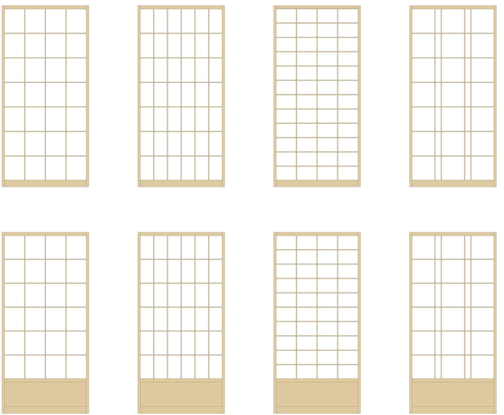 standard-shoji-patterns